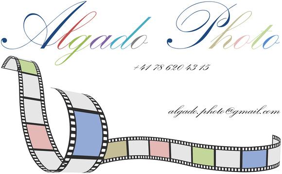 Carte de visite Algado Photo